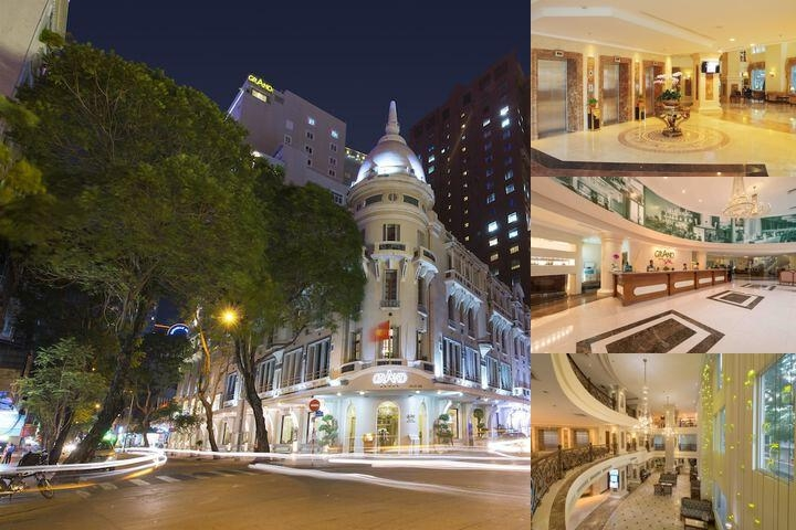 Grand Hotel Saigon photo collage