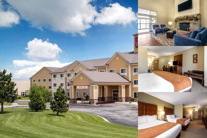 Comfort Suites Johnson Creek photo collage
