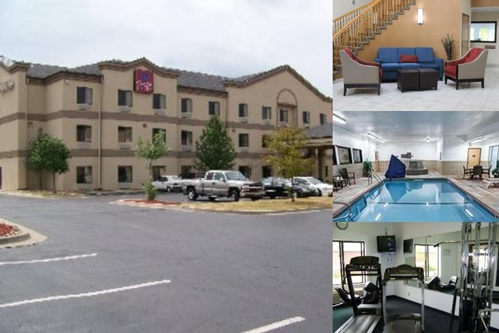 Comfort Suites Kansas City Liberty photo collage