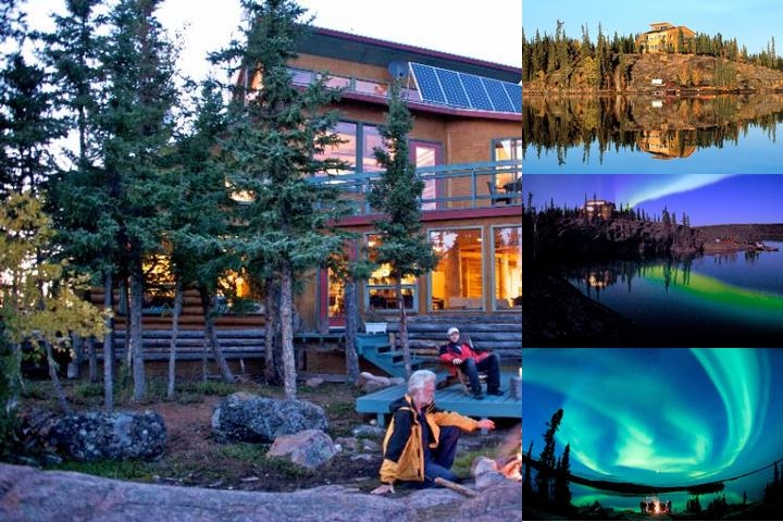 Blachford Lake Lodge photo collage