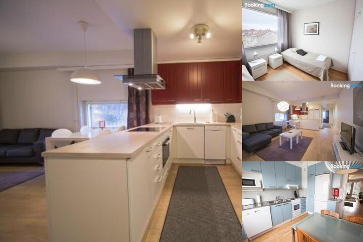 Kotimaailma Apartments Turku photo collage