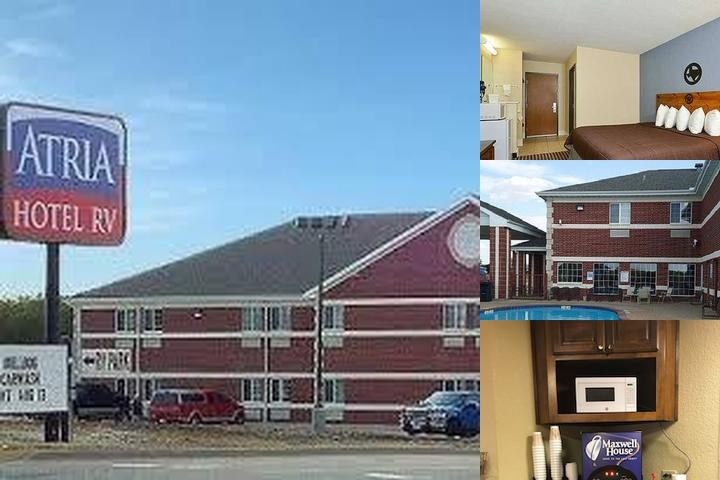 Atria Hotel & Rv Park photo collage
