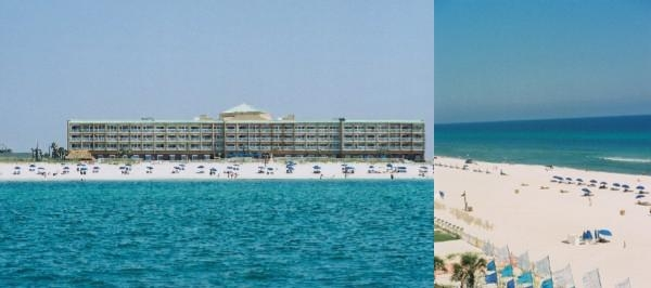 Hampton Inn Pensacola Beach photo collage