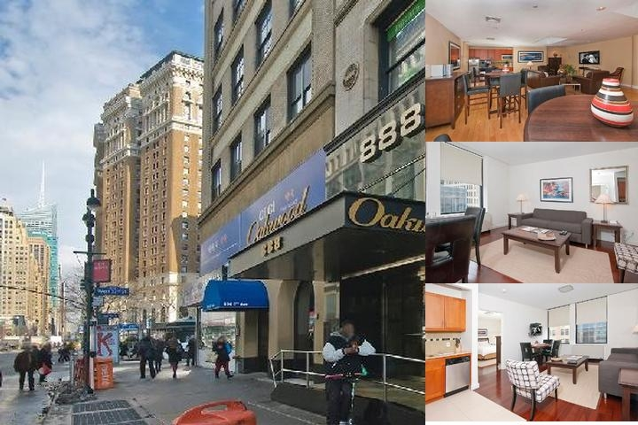 Oakwood Sixth Avenue photo collage