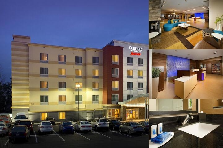 Fairfield Inn & Suites Arundel Mills BWI Airport photo collage