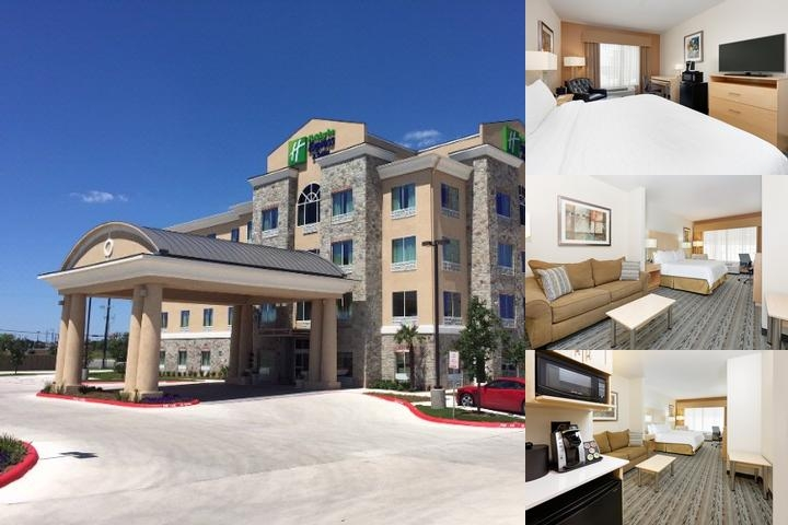 Holiday Inn Express & Suites San Antonio Brooks Cb photo collage