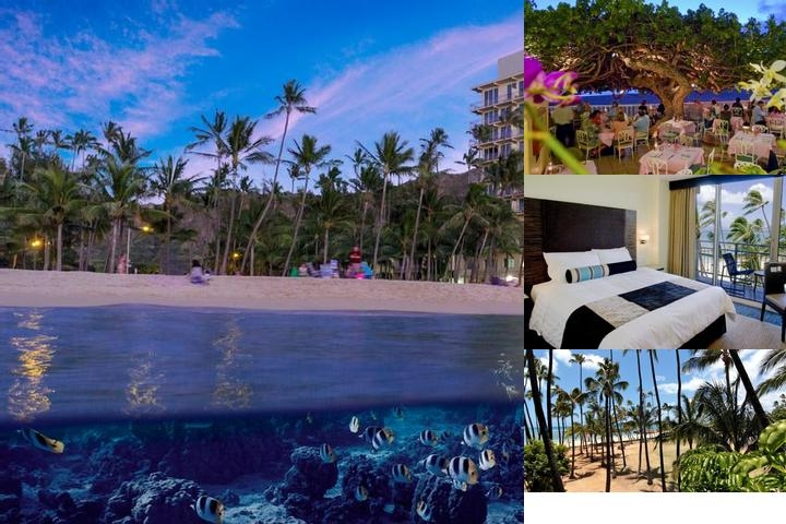 The New Otani Kaimana Beach Hotel photo collage