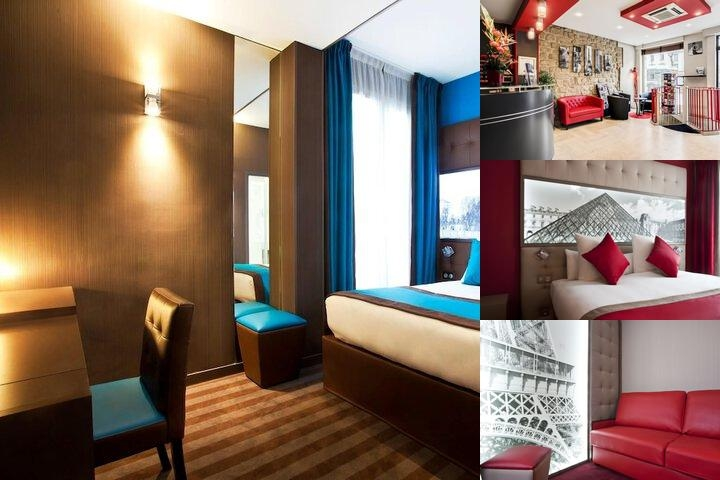 Best Western Nouvel Orleans Montparnasse photo collage