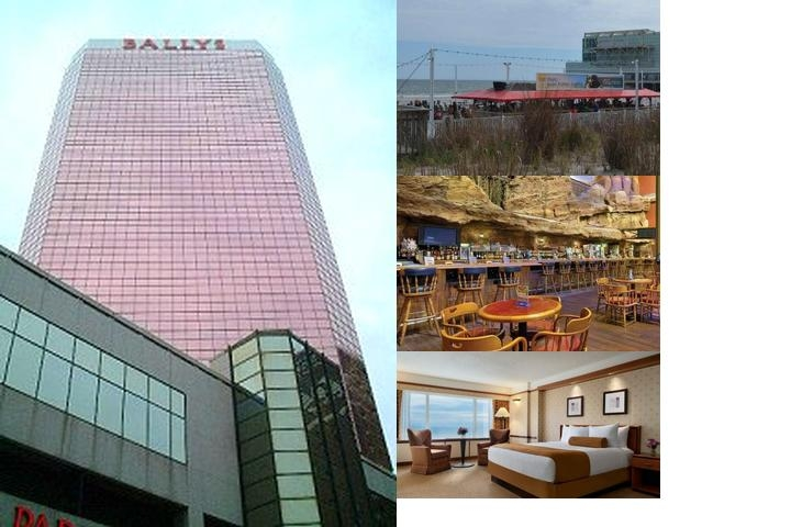 Bally's Atlantic City photo collage