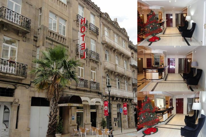 Hotel Compostela photo collage