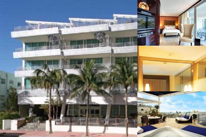 Z Ocean Hotel Crowne Plaza South Beach photo collage