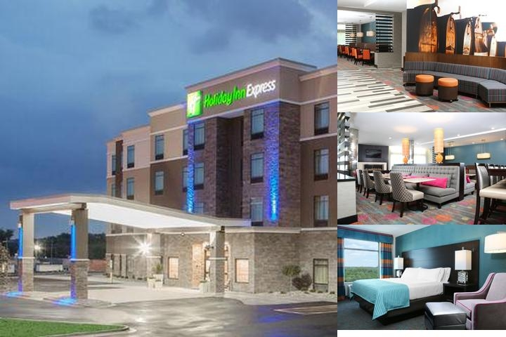 Holiday Inn Express Moline Quad Cities photo collage