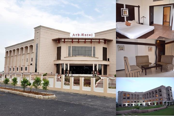 Ark Hotel photo collage