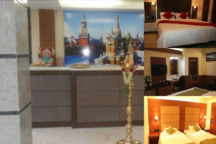 Moskva Hotel photo collage