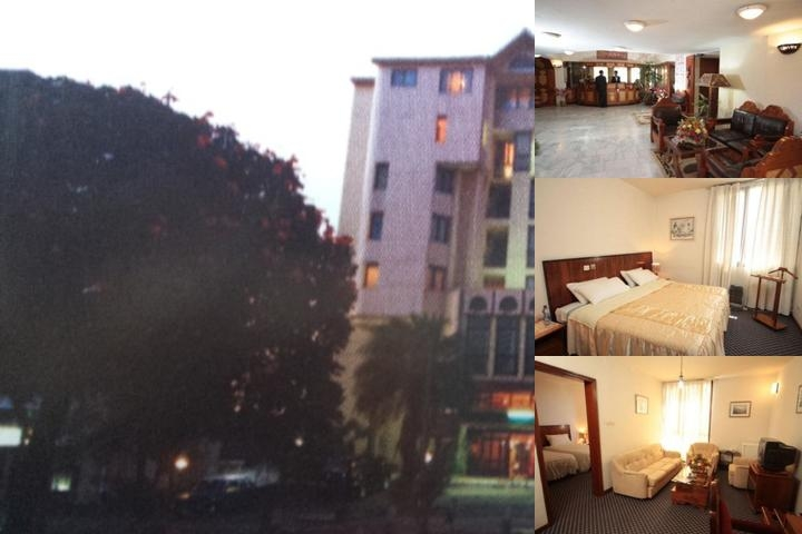 Queen of Sheba Hotel photo collage