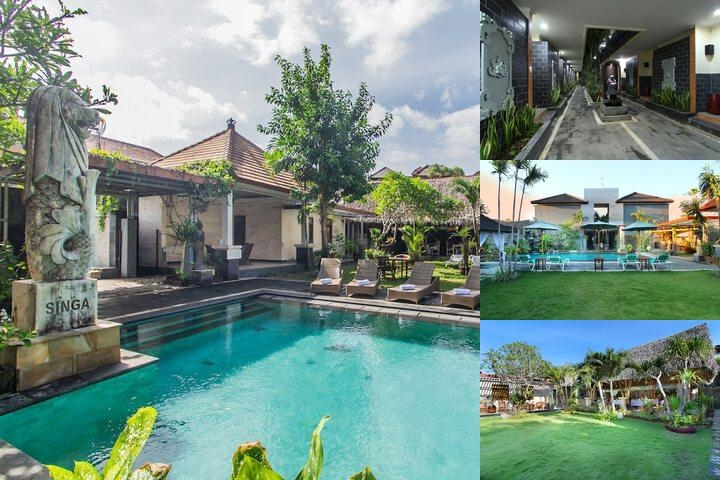 Jimbaran Lestari Hotel & Residence Spa photo collage