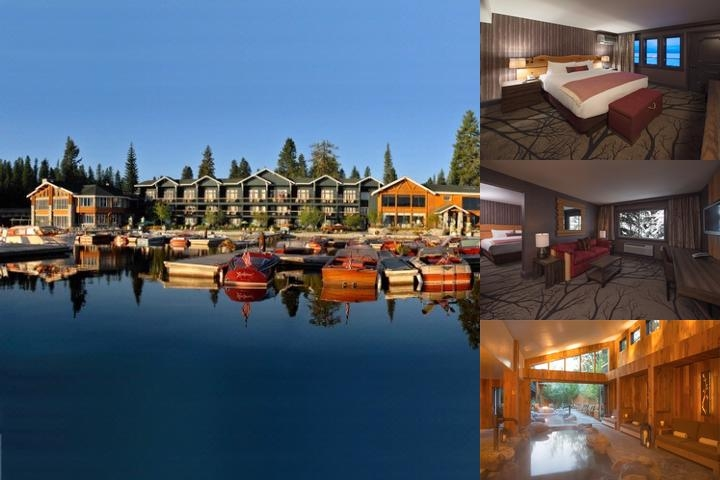 Shore Lodge photo collage