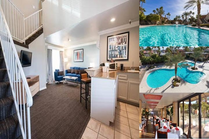 Alexis Park All Suite Resort photo collage