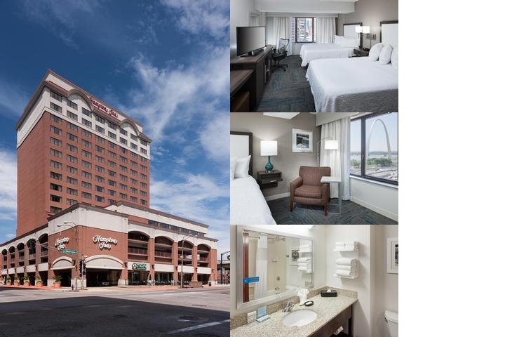 Hampton Inn Downtown St. Louis at the Gateway Arch photo collage