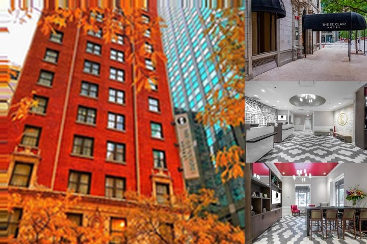 Red Roof Inn Chicago Downtown Magnificent Mile photo collage