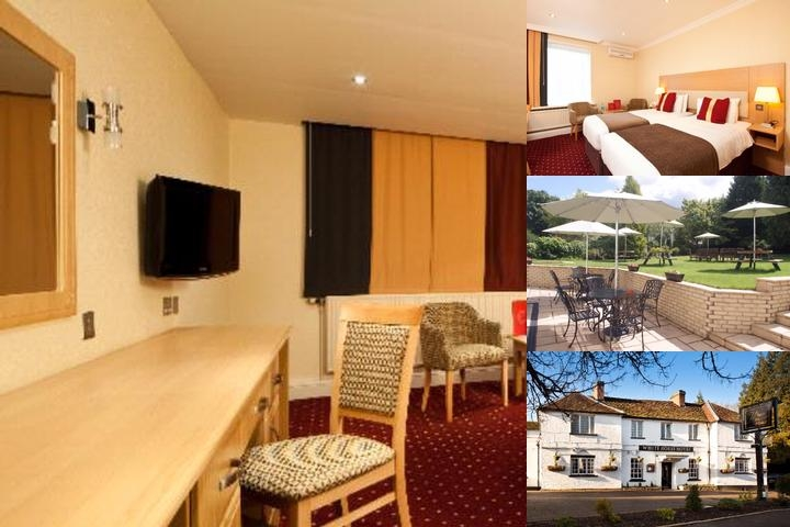 White Horse Hotel photo collage