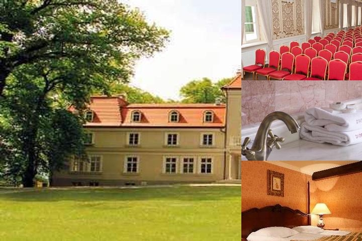 Sieraków Manor photo collage