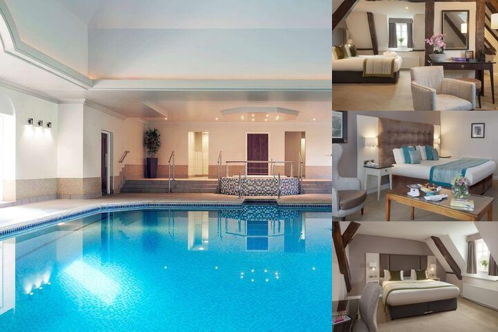 Mercure Shrewsbury Albrighton Hall Hotel & Spa photo collage