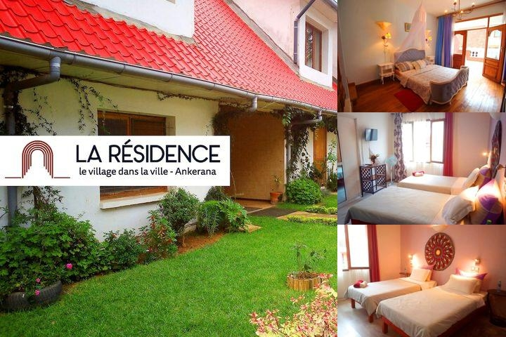 La Residence photo collage