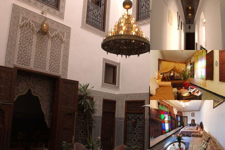 Riad Dar Chrifa photo collage