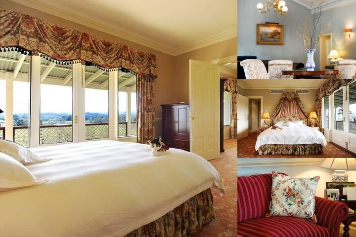 Chateau Yering Hotel photo collage