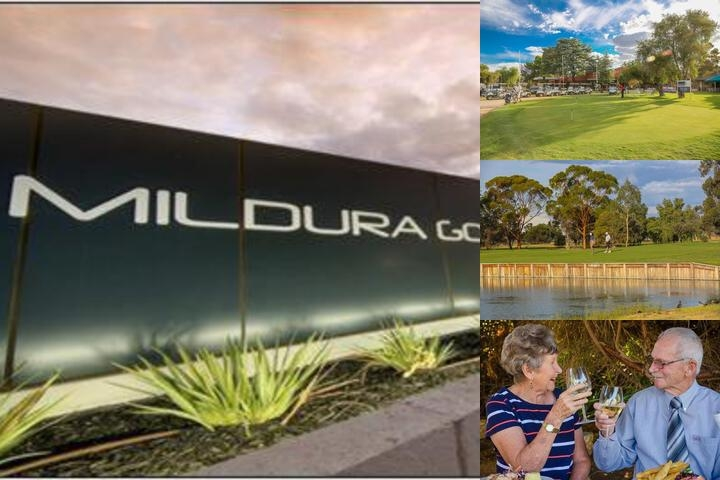 Mildura Golf Resort photo collage