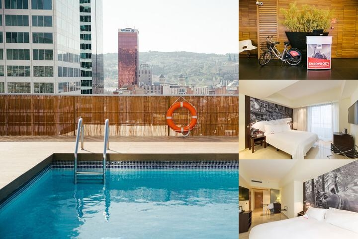 Expo Hotel Barcelona photo collage