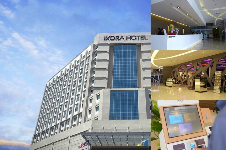 Ixora Hotel photo collage