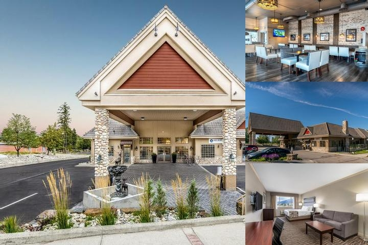Best Western Plus Prestige Inn Radium Hot Springs photo collage