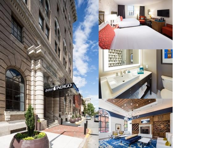 Hotel Indigo Baltimore photo collage
