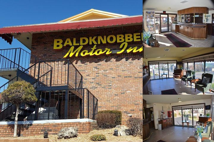 Baldknobbers Inn photo collage