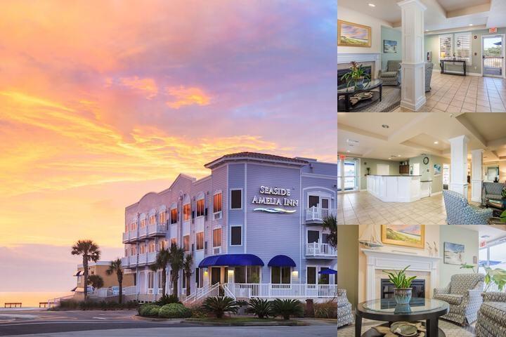 Seaside Amelia Inn Photo Collage