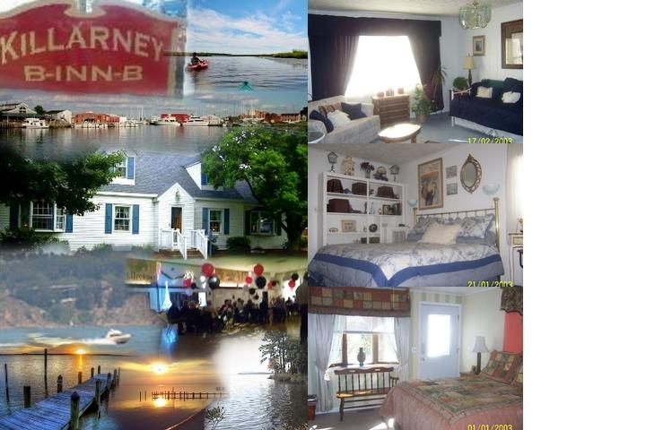 Killarney B Inn B photo collage