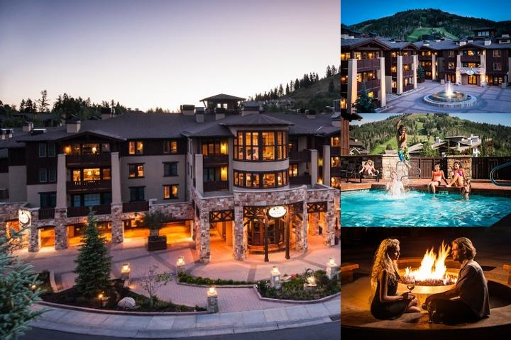 The Chateaux Deer Valley photo collage