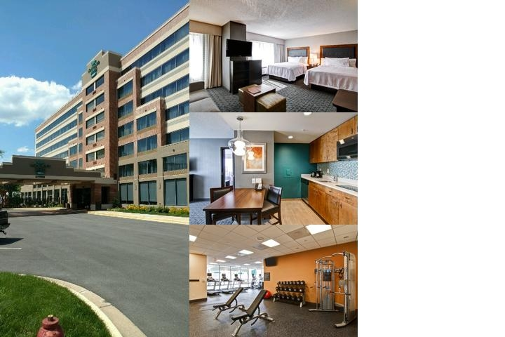 Homewood Suites Gaithersburg photo collage