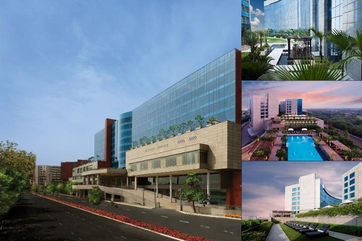 The Leela Ambience Gurgaon photo collage