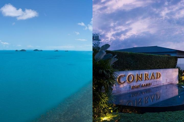 Conrad Koh Samui Resort & Spa photo collage