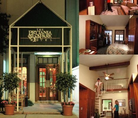 Prytania Park Hotel photo collage