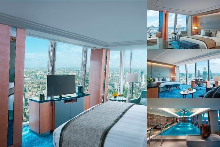 Shangri La Hotel at the Shard London photo collage