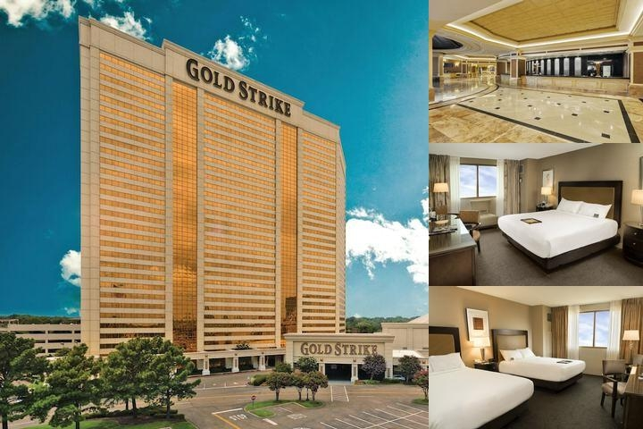 Gold Strike Casino Resort photo collage