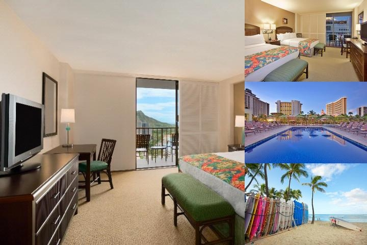 Waikiki Beachcomber by Outrigger photo collage