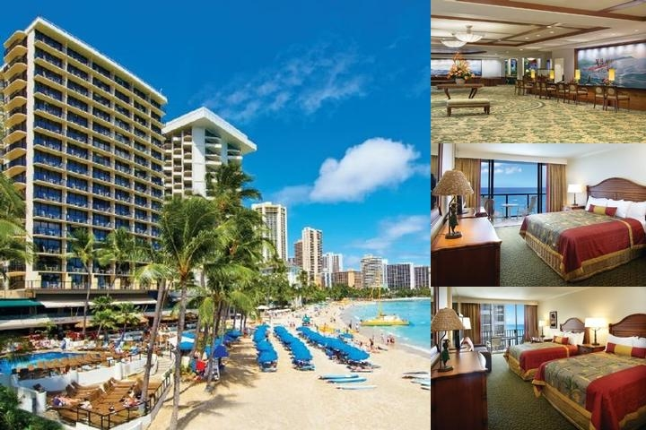 Outrigger Waikiki Beach Resort photo collage