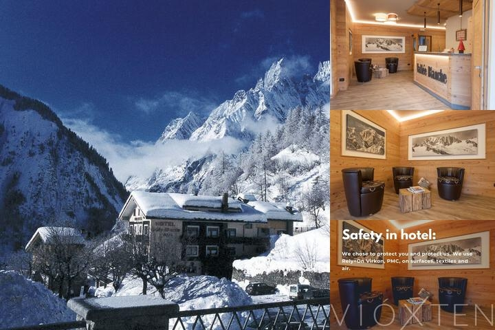 Hotel La Vallee Blanche photo collage