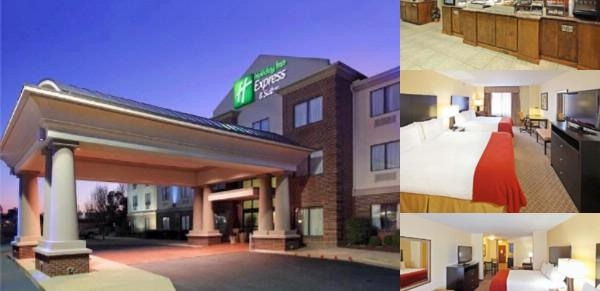 Holiday Inn Express Suites Pine Bluff photo collage