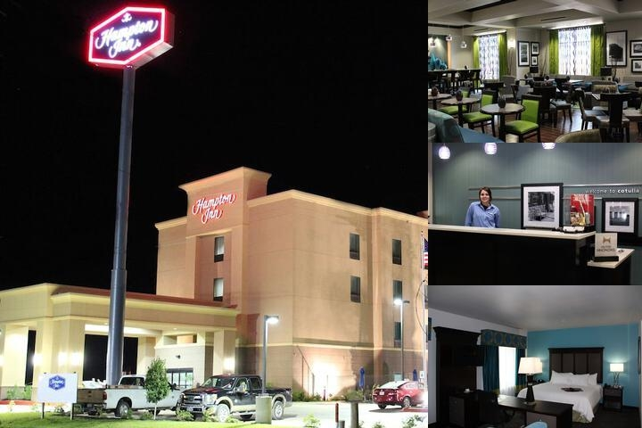 Hampton Inn Cotulla photo collage